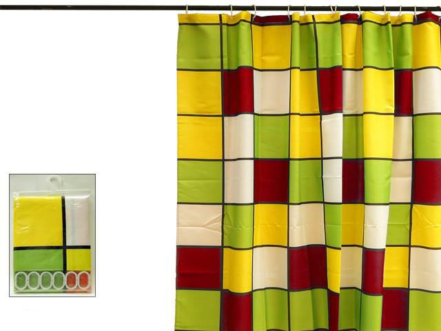 Vorhang Dusche Fenster : ... Duschvorhang Textil Duschvorhänge Bad ...