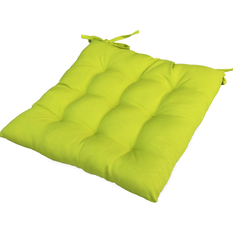 stuhlkissen 9 punkt steppung 40 x 40 cm sitzkissen kissen sitzauflage ebay. Black Bedroom Furniture Sets. Home Design Ideas