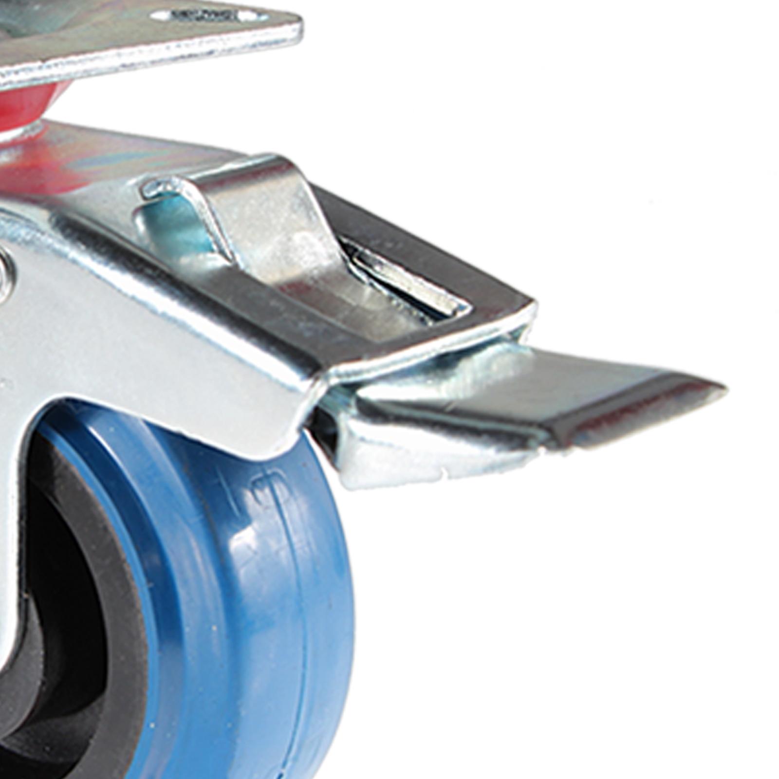 Transportrollen mit Bremse